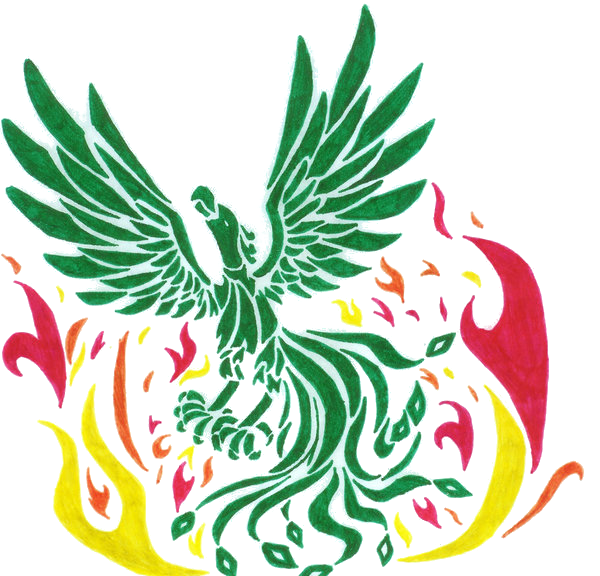 tribal phoenix by greenlightningbolt